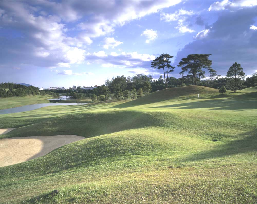 Dalat Palace Golf Club is Vietnam's oldest course, and arguably still its best.