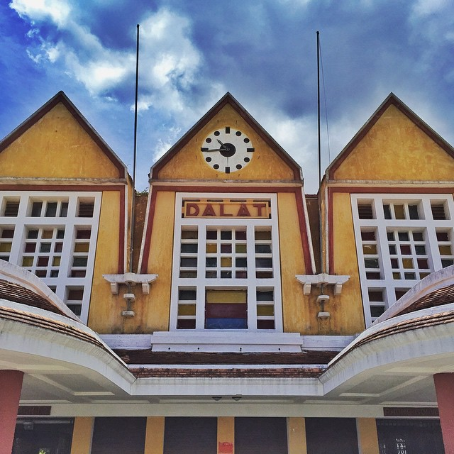 Dalat is home to Vietnam's oldest railway station, a popular tourist attraction for its unique Art Deco design. PHOTO BY @hugocarlton