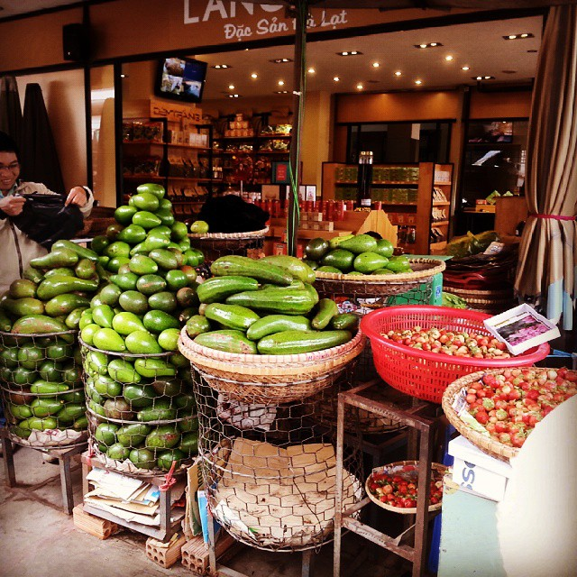 As one of Vietnam's premier agricultural regions, Dalat is renowned for its produce. PHOTO BY @davidlt